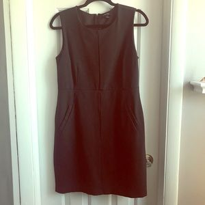 Fitted black dress by Land's End